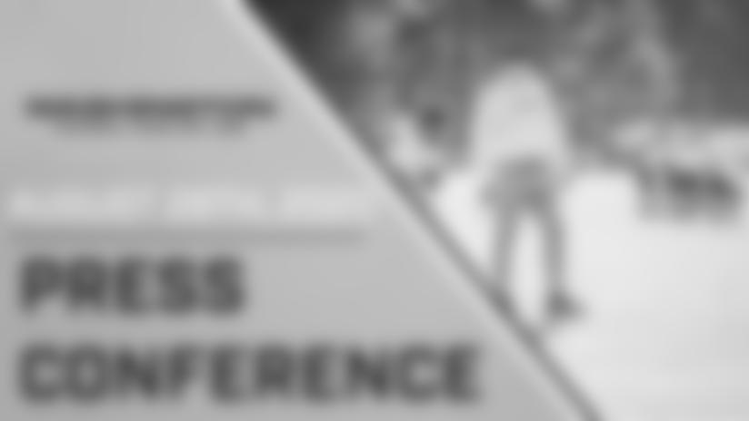 Press Conference: Head Coach Ron Rivera | August 28, 2020