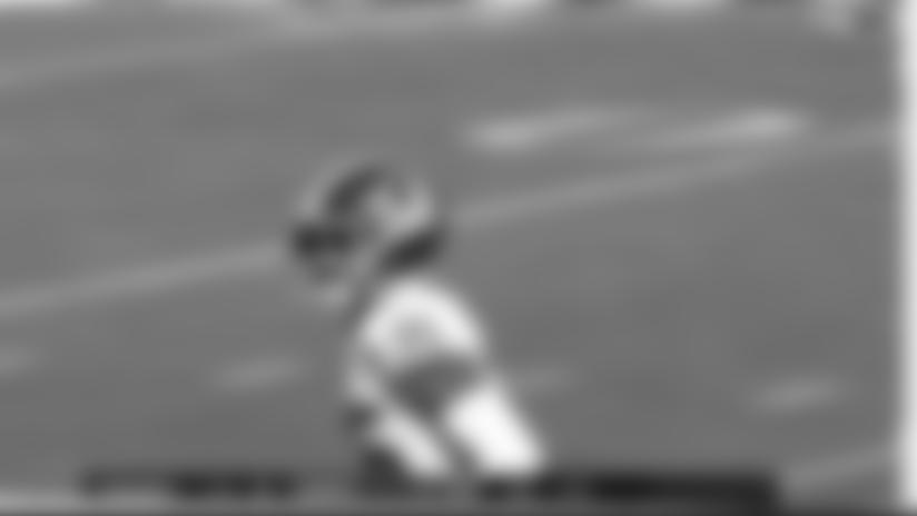 Montae Nicholson Recovers Jon Hilliman Fumble On Goal Line
