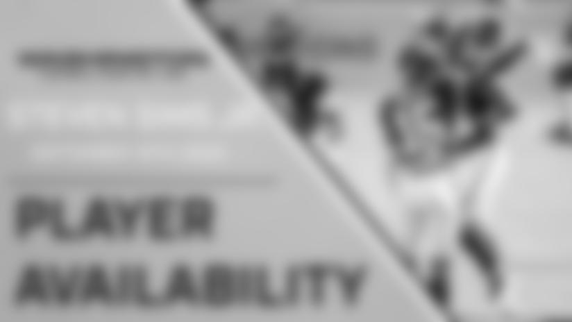Player Availability: Steven Sims Jr. | September 16th, 2020