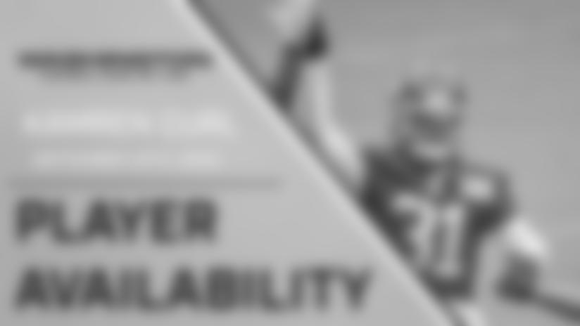 Player Availability: Kamren Curl   September 25, 2020