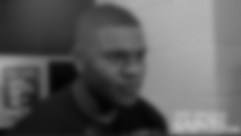 Stephone Anthony Locker Room Interview 09/18/2015