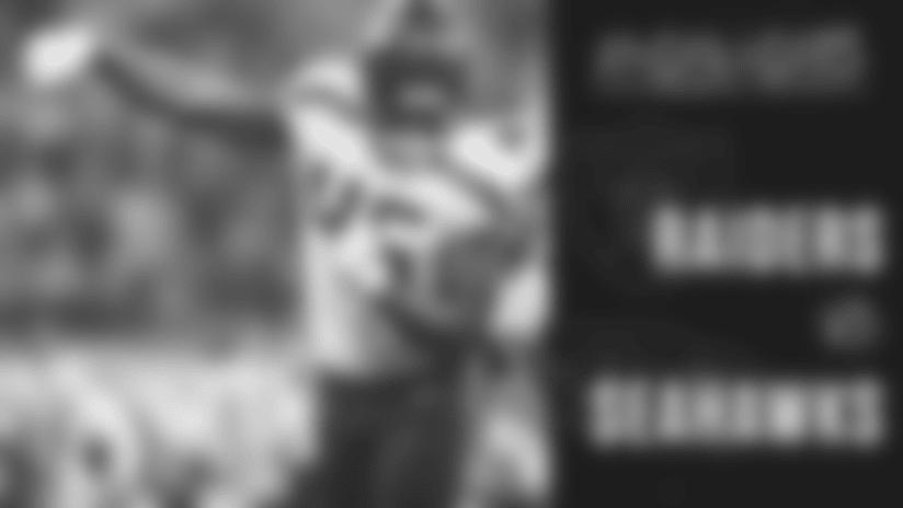 2018 Week 6: Seahawks at Raiders Highlights