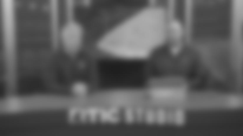 BMW Telestrator: Jordan Akins Touchdown