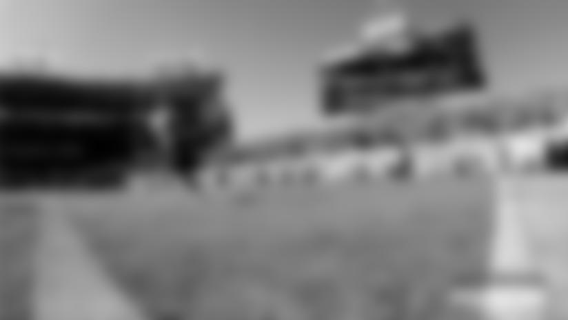 Rashaan Evans' Clutch Fumble Return TD | Nissan Pylon Cam