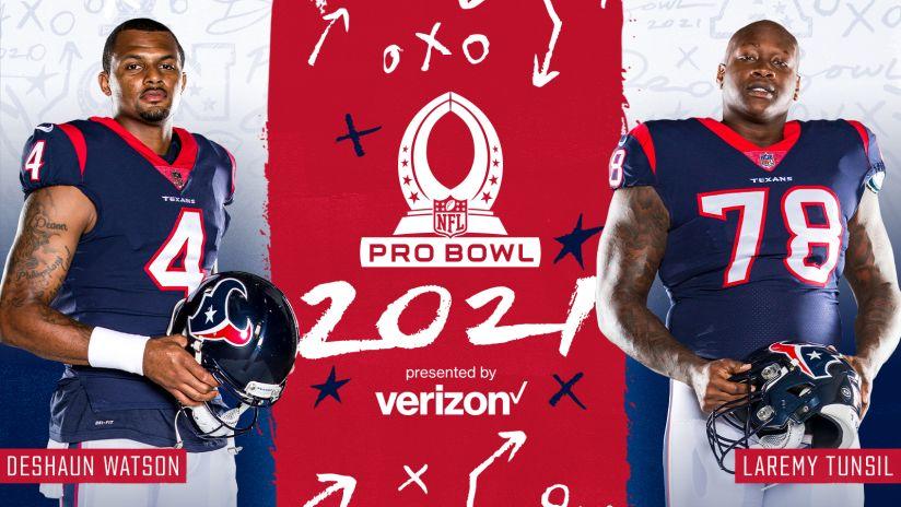 Deshaun Watson and Laremy Tunsil will be among 2021 Pro Bowl ...
