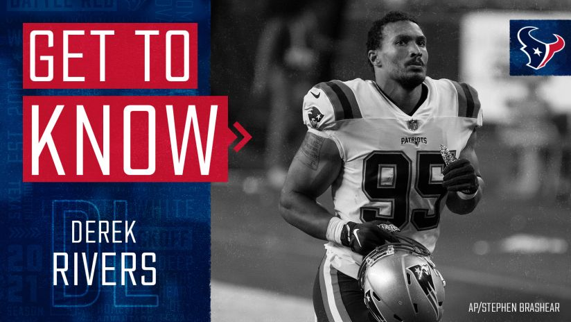 Get to know Houston Texans defensive lineman Derek Rivers, signed ...
