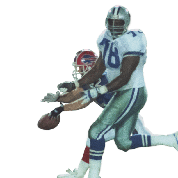 Don Beebe Chases Down Leon Lett in Super Bowl XXVII