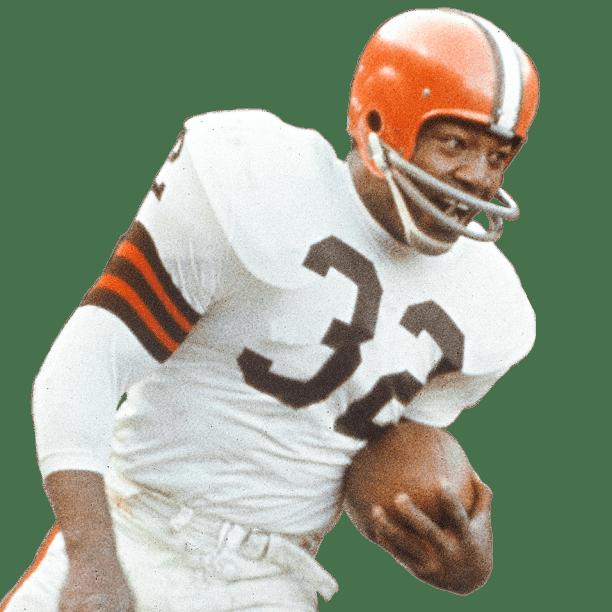 Jim Brown Breaks Off A 77 Yard TD Catch