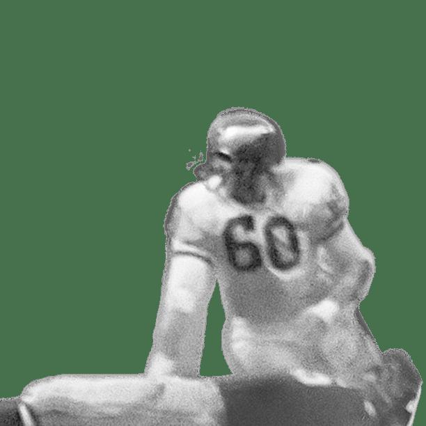 Chuck Bednarik Hit on Frank Gifford