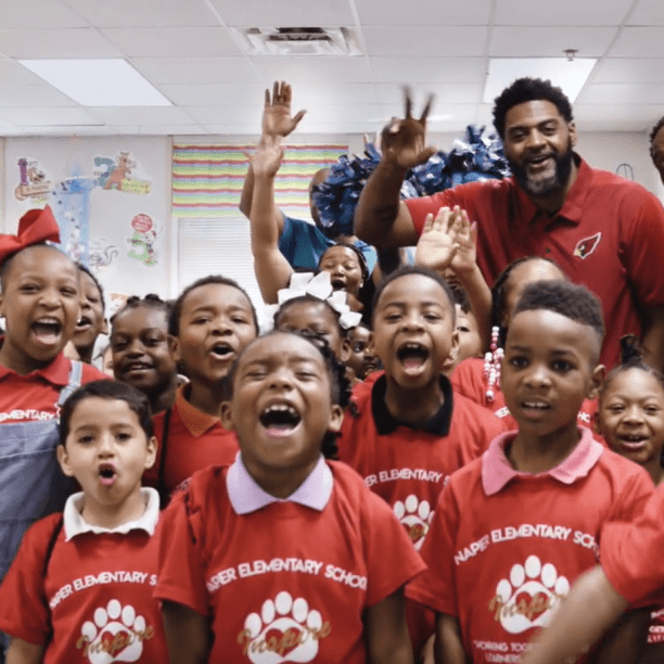 2013 Walter Payton Man of the Year, Peanut Tillman, on Helping Others