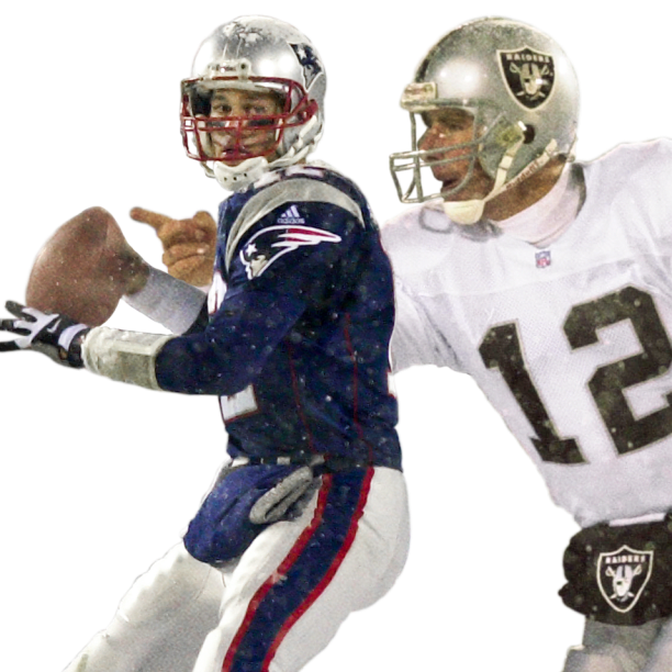 """AFC Divisional Playoff - """"The Tuck Rule"""""""