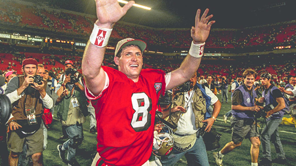uk availability 99065 e609b Jan. 29, 1995: Steve Young Leads 49ers to Fifth Lombardi ...