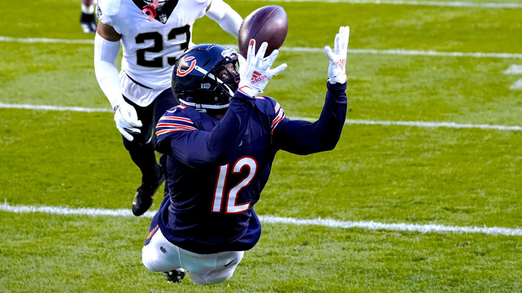 Allen Robinson makes a diving touchdown catch against the Saints in Week 8 of the regular season