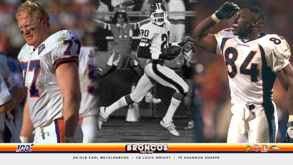 lowest price 6e1c3 dcd73 Andrew Mason's Broncos Top 100 all-time team