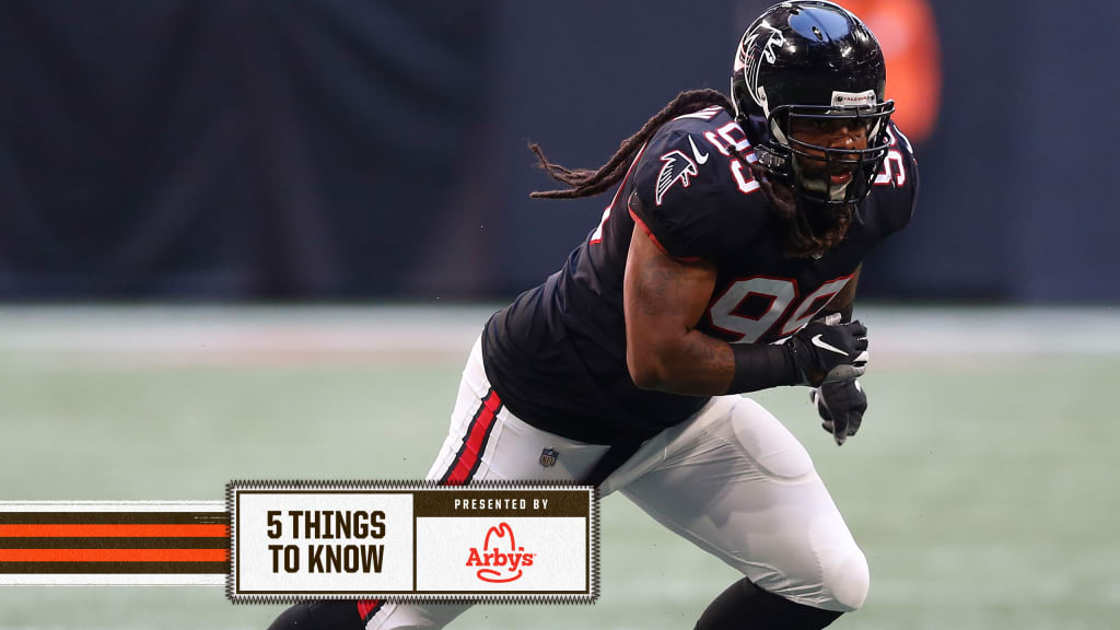 5 things to know about new Browns pass rusher Adrian Clayborn