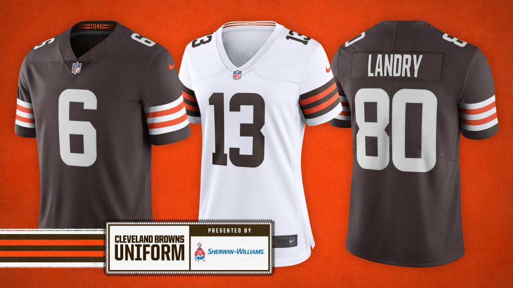 custom cleveland browns replica jersey