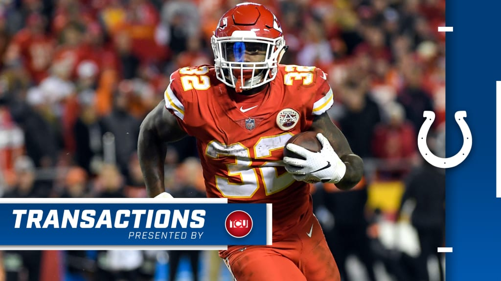 los angeles ac8c4 b3a79 Colts Sign Free Agent Running Back Spencer Ware