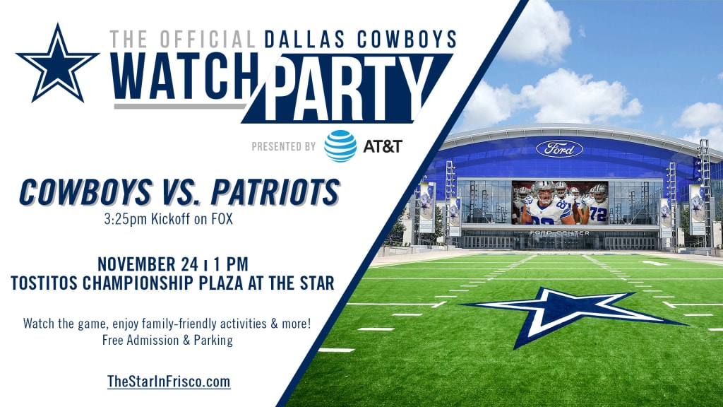 Cowboys To Host Free Watch Party Sunday