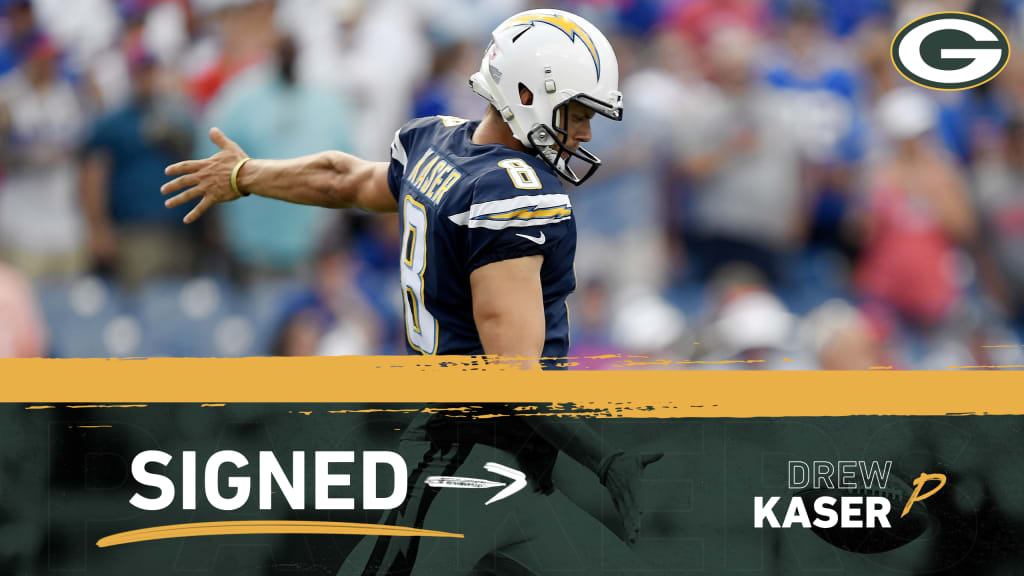 Packers sign P Drew Kaser to the active roster
