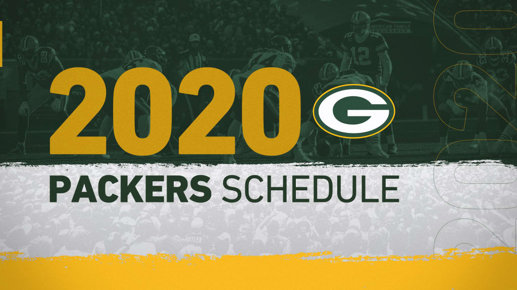 2020 Green Bay Packers Schedule Complete Schedule Tickets And Matchup Information For 2020 Nfl Season