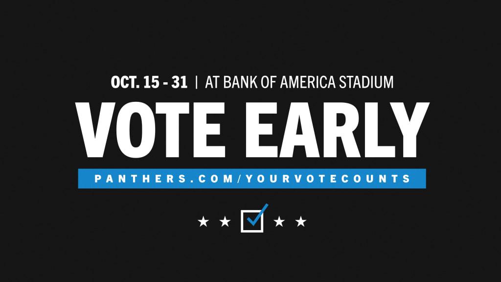 Voting At Bank Of America Stadium Information