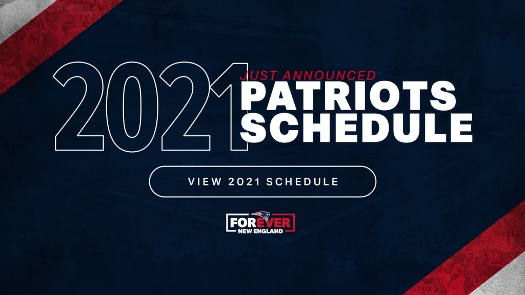 Christmas Show New England 2021 New England Patriots Announce Full 2021 Schedule