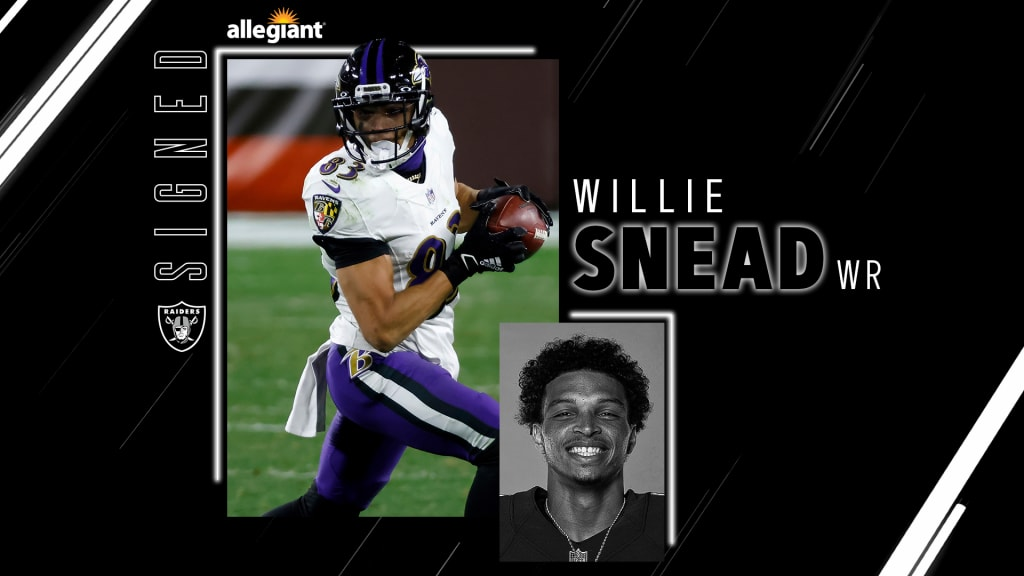 Raiders sign WR Willie Snead