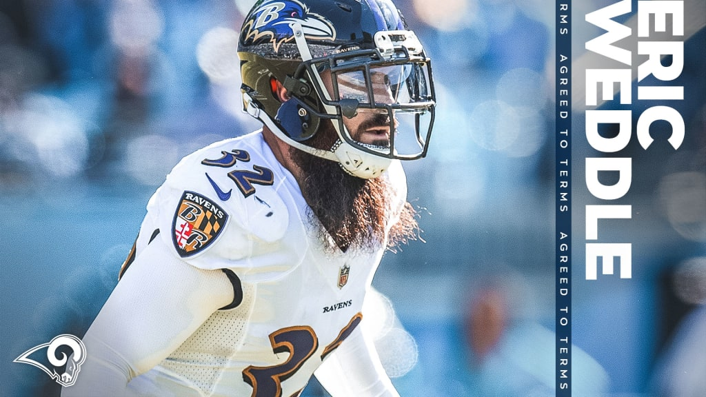 Rams, Eric Weddle agree to terms on two-year deal