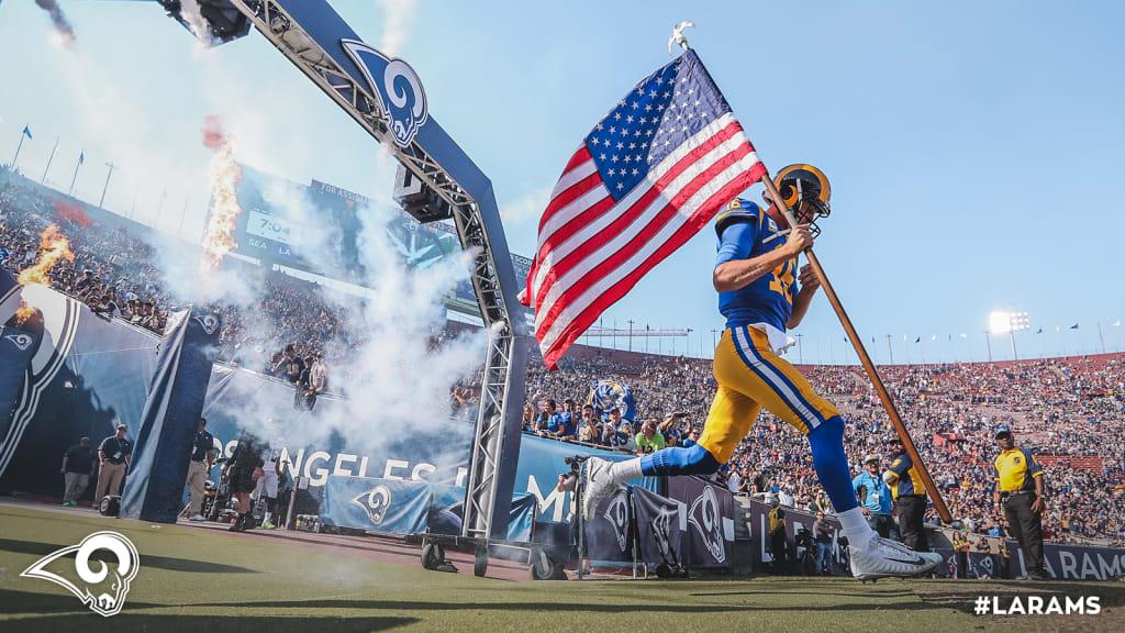 One Size NFL Los Angeles Rams Bottle Suit Holder Team Color