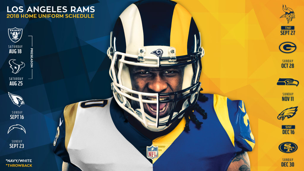 best website ee5d6 4f3ff Rams Announce Uniform Updates
