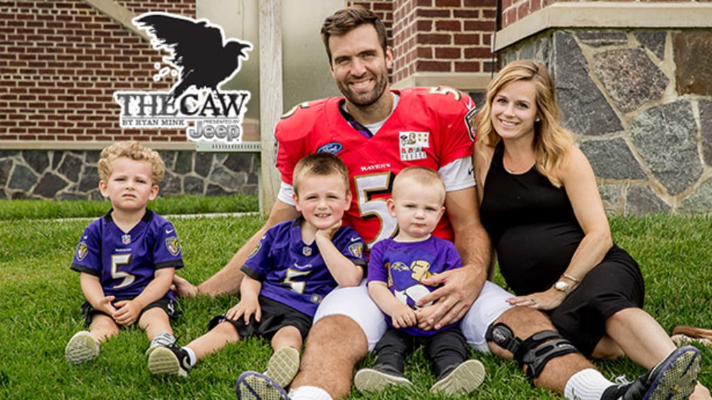 The Caw: Joe Flacco's Fourth Baby, And First Daughter, Has Arrived