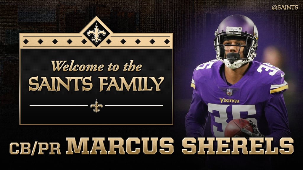 Saints Agree To Terms With CB/PR Marcus Sherels