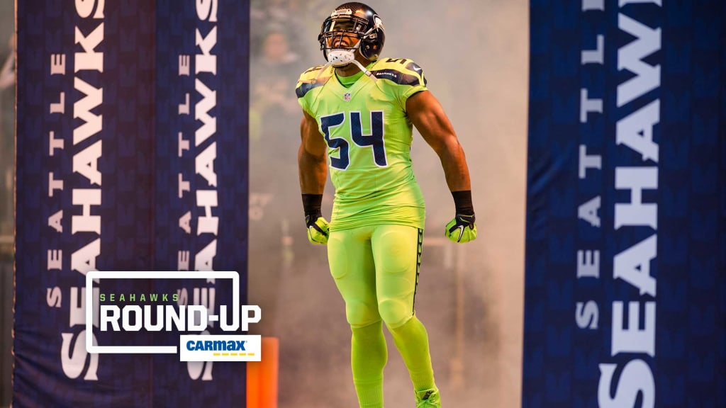 2c1b4325 Tuesday Round-Up: Seahawks To Wear Action Green Uniforms On Monday ...
