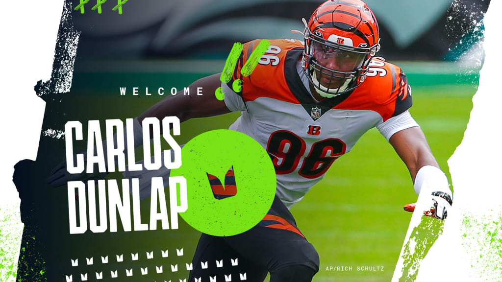 Seahawks Acquire DE Carlos Dunlap In Trade With Bengals, Pending ...
