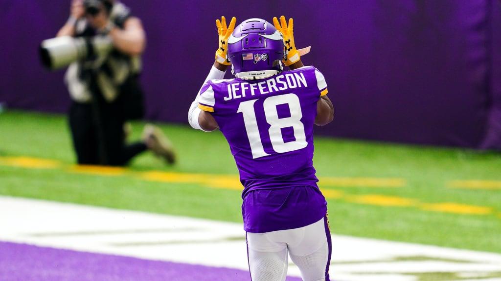 Justin Jefferson Breaks Down First Career Touchdown
