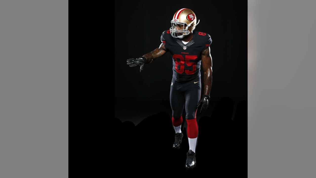49ers jersey in black