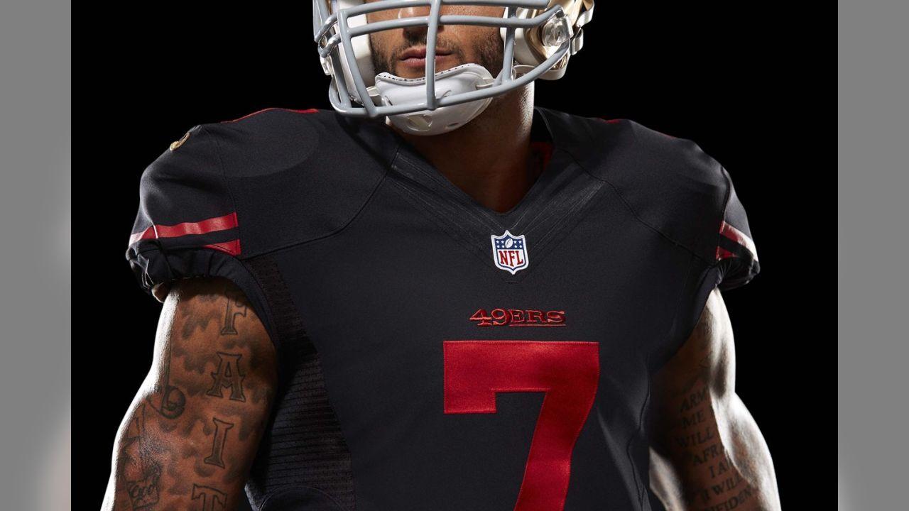 49ers First Alternate Uniform