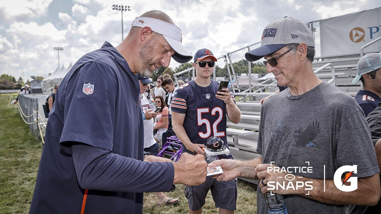 Bears host Woodstock police officer at practice