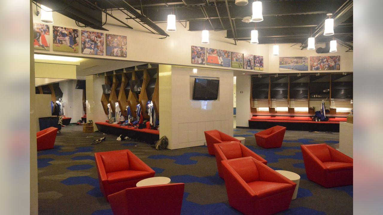 Sneak Peek Inside The Bills New Locker Room