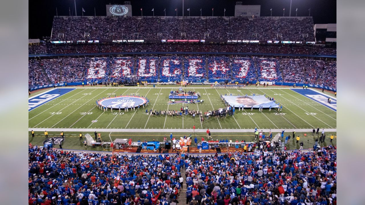 bruce smith jersey retired