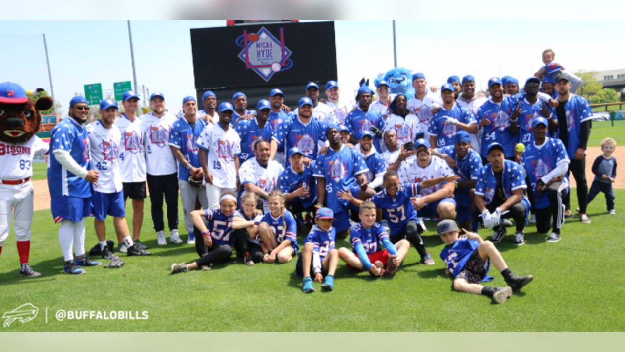 Bills chemistry on display at Micah Hyde's Charity Softball Game