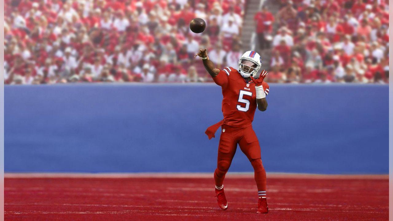 Color Rush - Bills Red Jerseys