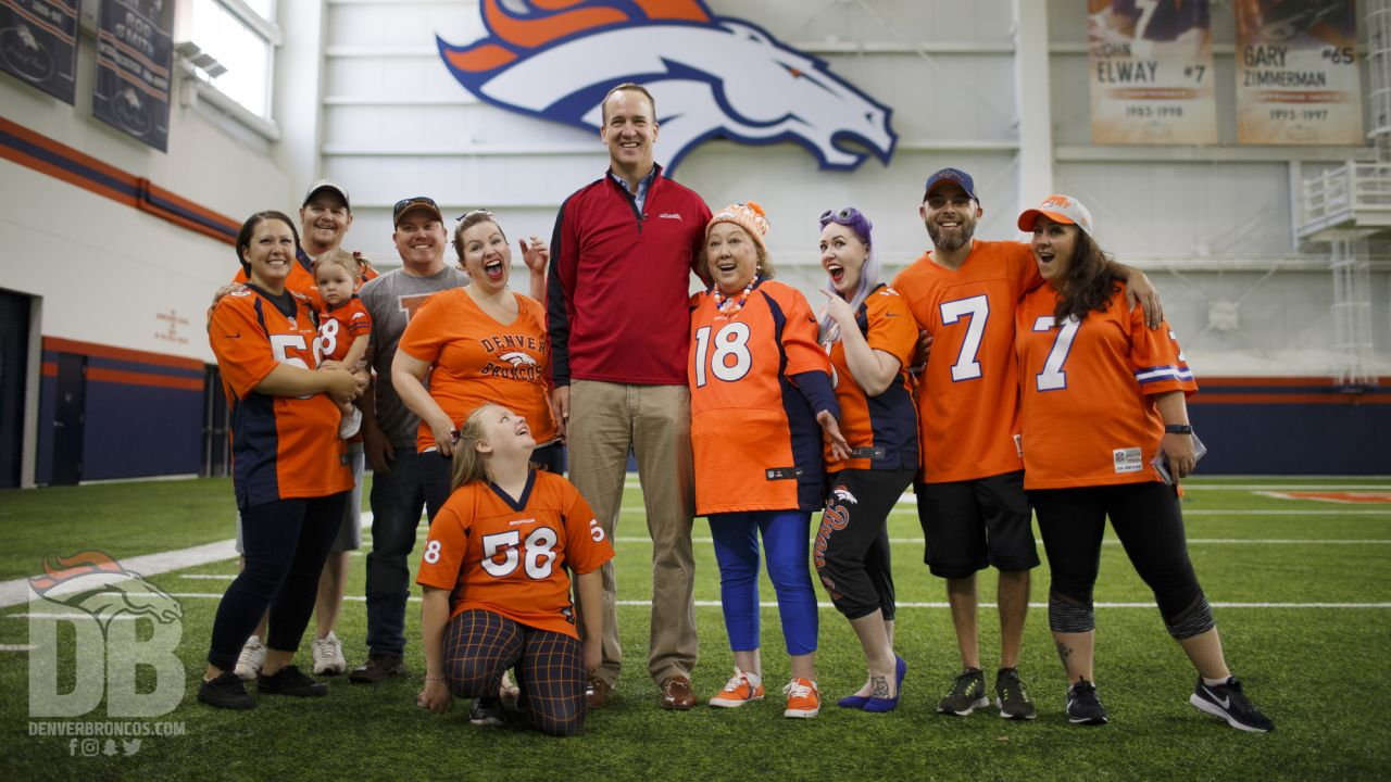 Photoshoot with UCHealth patient turns into surprise from Peyton Manning