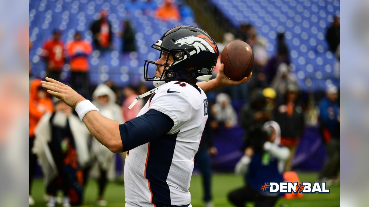 Inactive players announced for Broncos at Ravens