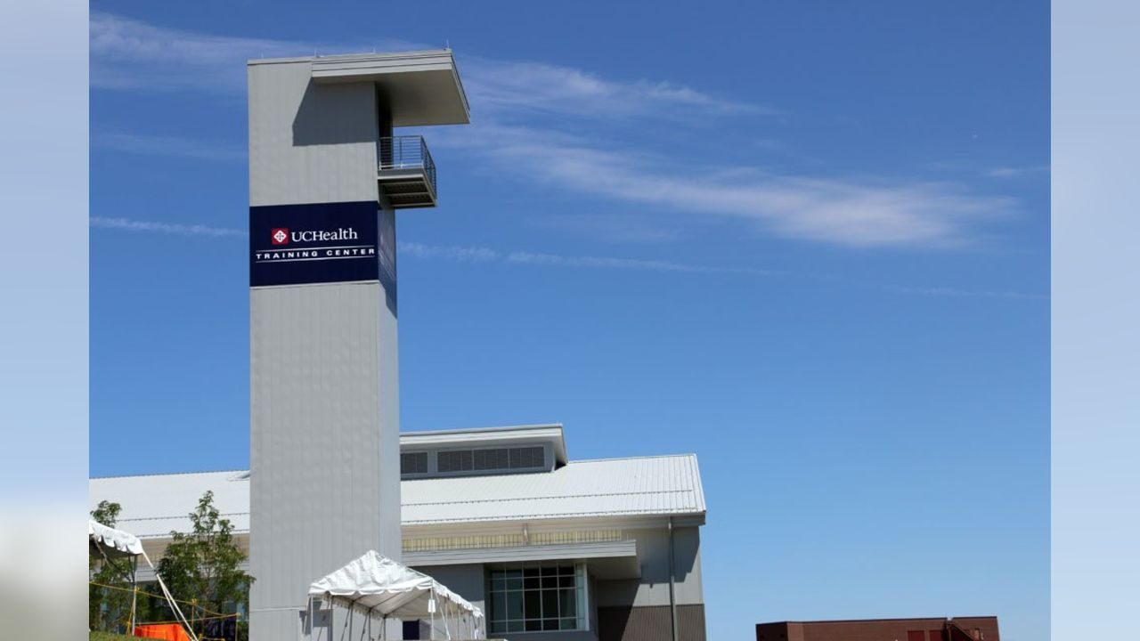 UCHealth Training Center unveiling