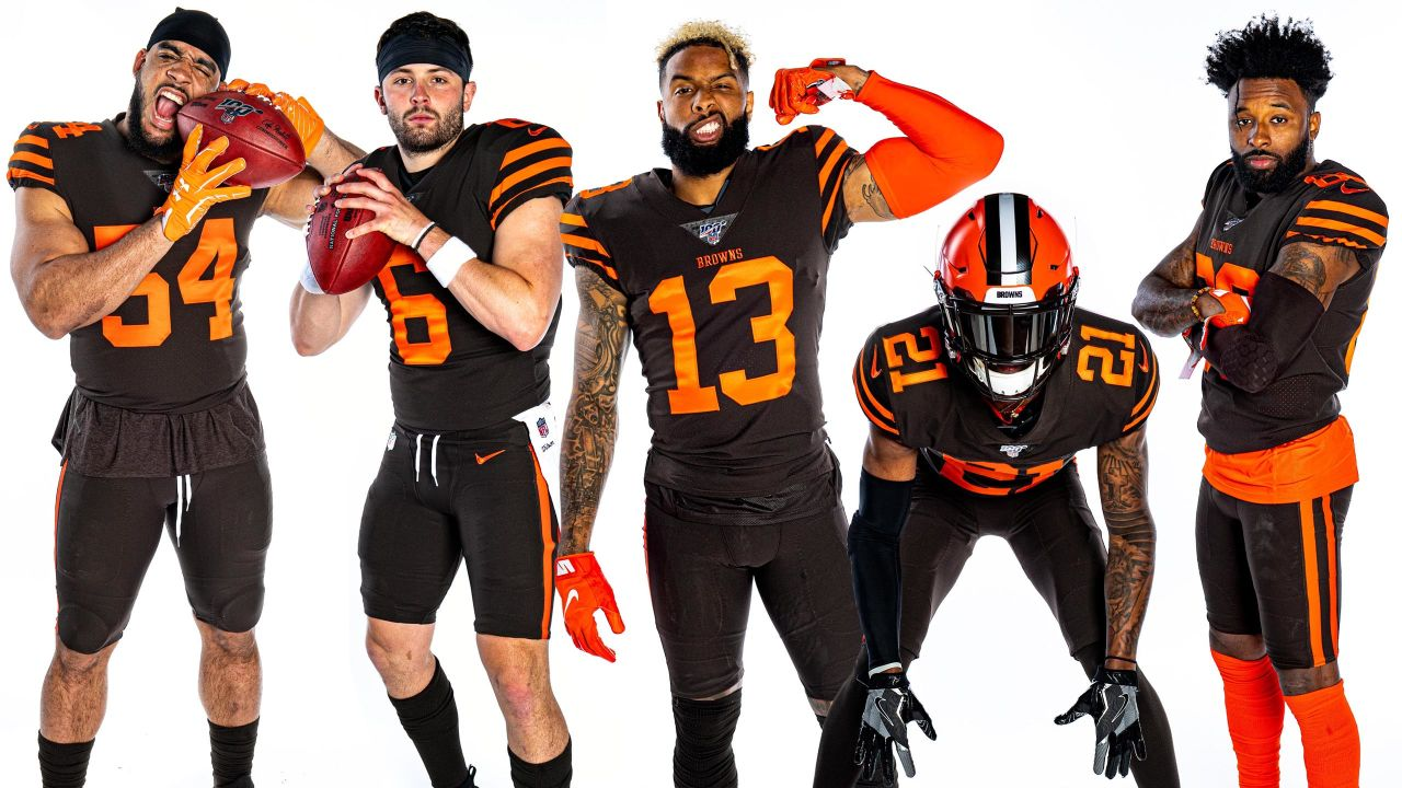 Browns Color Rush 2020.From Color Rush To Primary Colors Browns To Regularly Wear