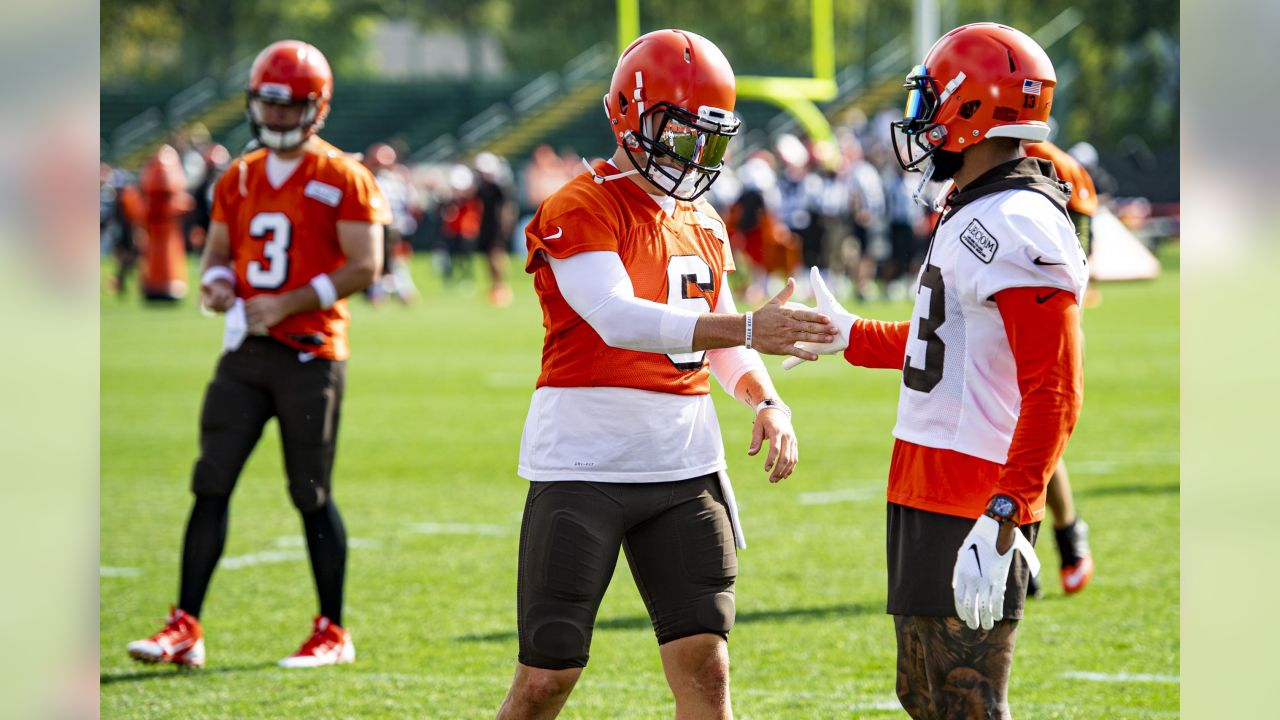 best sneakers a9ccd c04b1 BrownsCamp Daily: Why Baker Mayfield is at a 'better weight ...
