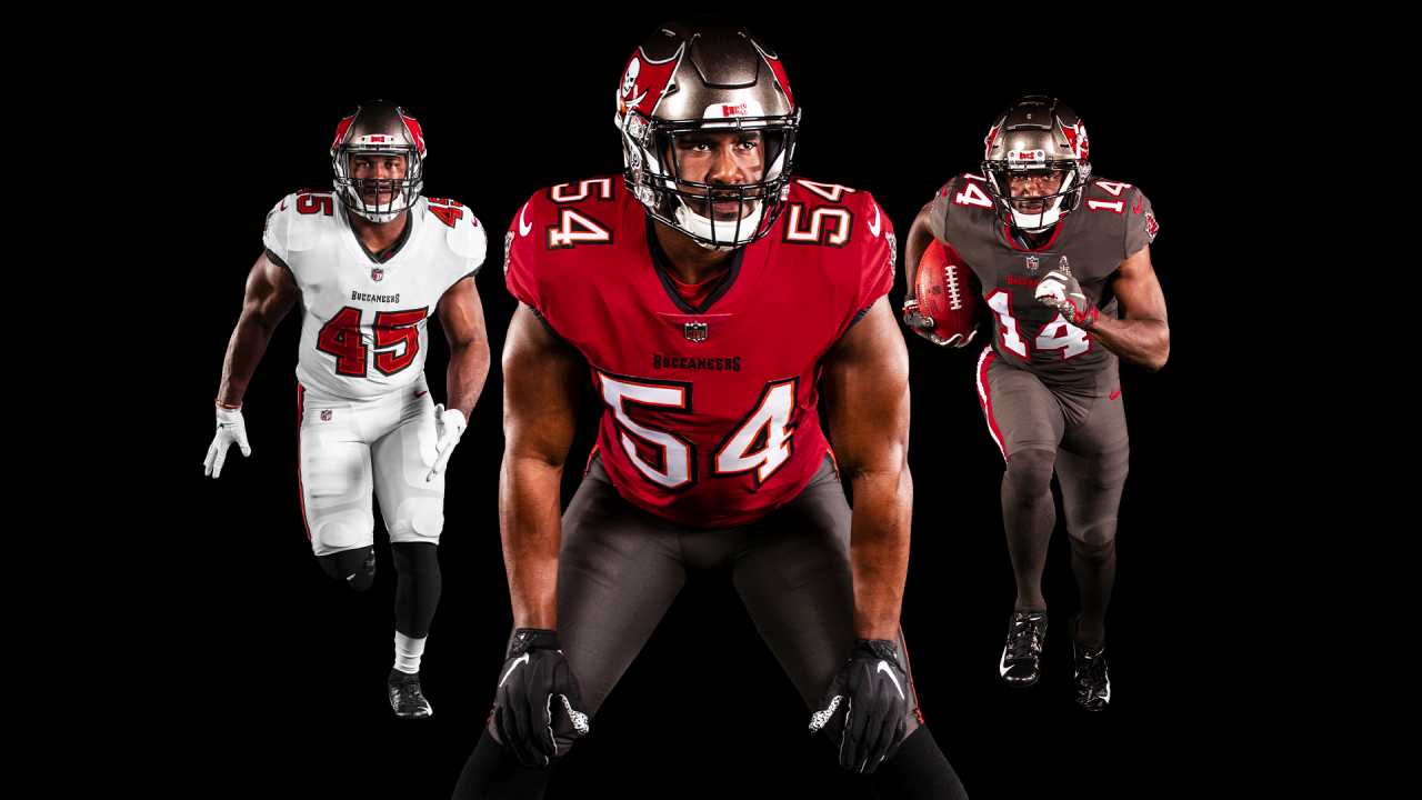 PHOTOS: View the Bucs New Uniforms