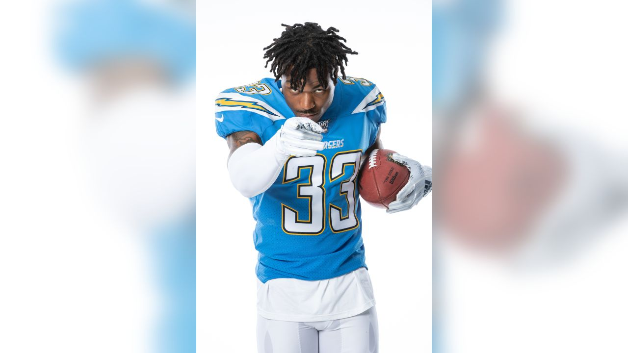 sneakers for cheap f478d f84f4 Iconic Powder Blues to Serve as Chargers' Primary Jersey in 2019