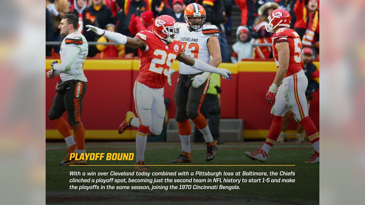 Photo Gallery Chiefs Vs Browns Postgame Facts And Stats